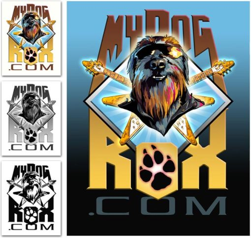 My Dog Rox final logos