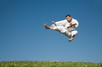 Ju-Jitsu Jump