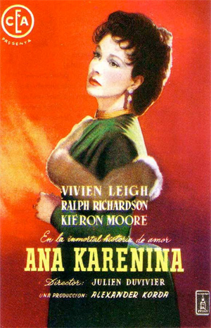 1948 Anna Karenina movie poster
